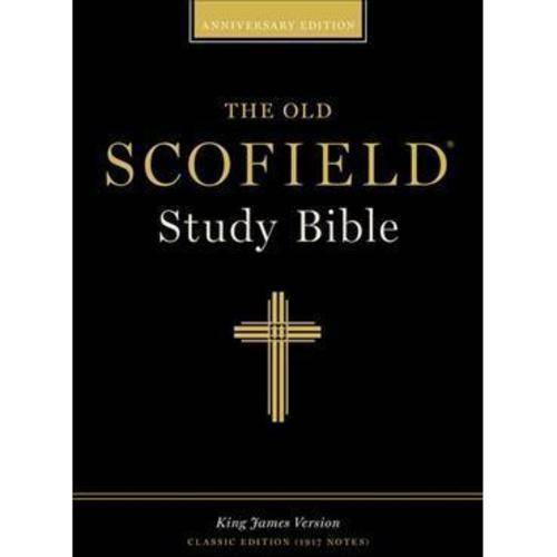 The Holy Bible: The Scofield Study Bible, King James Version, Navy Bonded Leather, Classic Edition