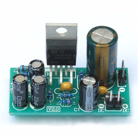 18W TDA2030A Audio Power Amplifier Board Module Mono DC9-24V DIY Kits Components