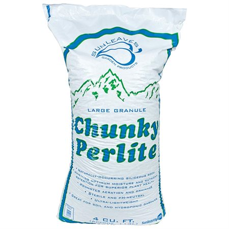 Sunleaves Chunky Perlite, 4 cu ft