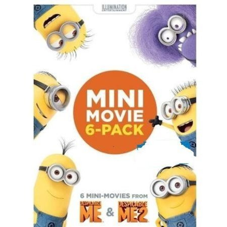 Despicable Me   Despicable Me 2 Mini Movie 6 Pack