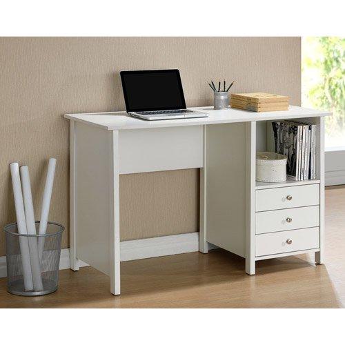 techni mobili contempo desk white