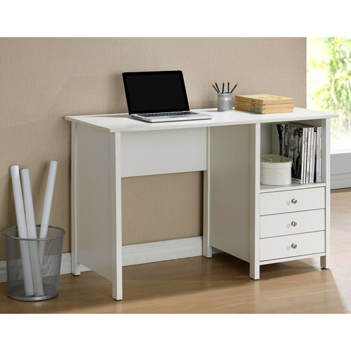 Techni Mobili Contempo Desk, White