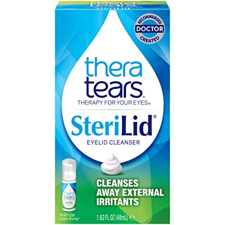 Sterilid Eyelid Cleanser - TheraTears Sterilid Eyelid Cleanser- 1.62FL OZ (48 mL)