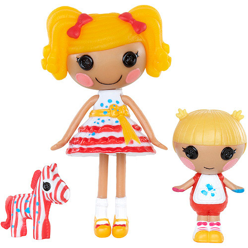 Lalaloopsy Mini Littles Doll, Spot Splatter Splash/Scribbles Splash