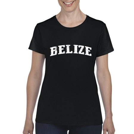 What To Do In Belize Travel Guide Deals Caribbean Cruise Map Flag Gift Womens T Shirt Tee Clothes