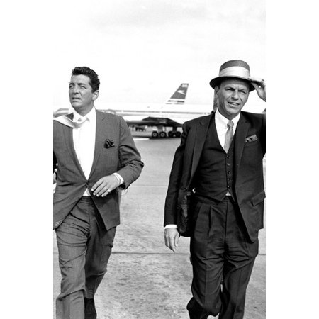 Frank Sinatra & Dean Martin Come Fly With Me Rat Pack iconic 24X36