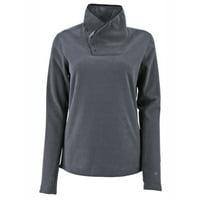 White Sierra Women's Blacktail Fleece Snap-neck Pullover