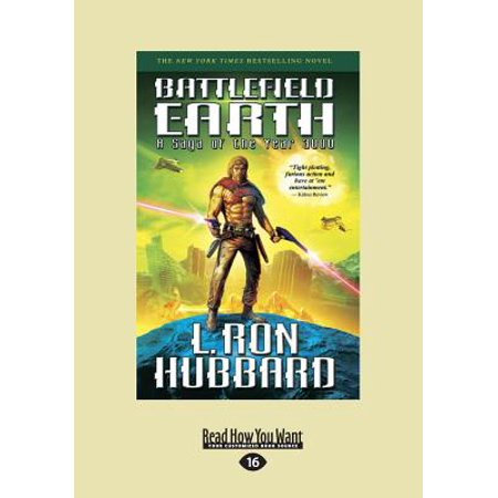 Battlefield Earth Vol 1 (Large Print 16pt) by