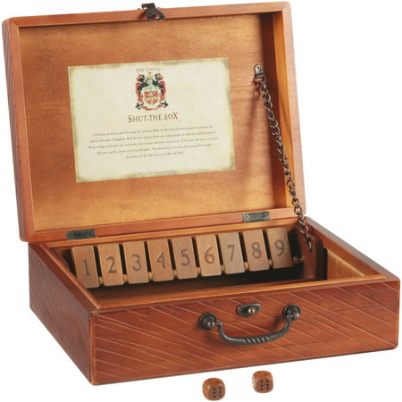 Front Porch Classics® Old Century Shut The Box Game