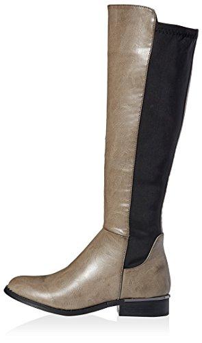 Modern Rush Women's Tall Stretch Boot, Grey, 8.5 M US