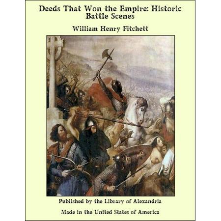 Deeds That Won the Empire: Historic Battle Scenes - eBook (Water Bottle Scene)