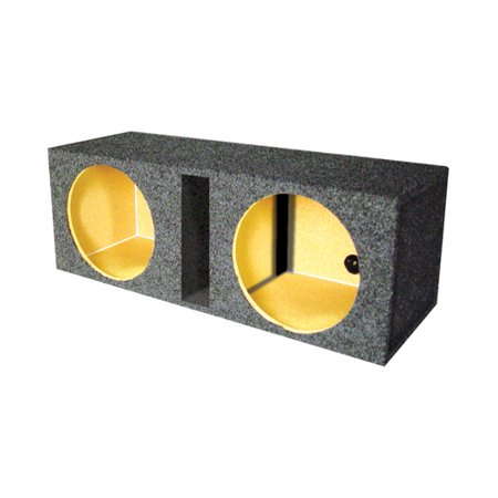 Vented Woofer - EMPTY WOOFER BOX DUAL 10