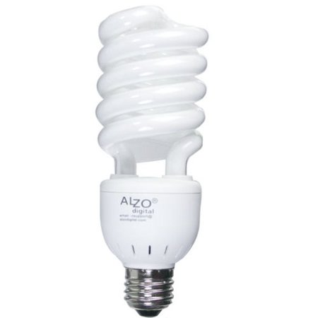 ALZO 27W Joyous Light Full Spectrum CFL Light Bulb 5500K, 1300 Lumens, 120V, Daylight White -
