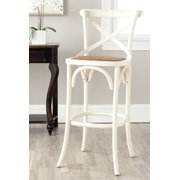 "Safavieh Franklin Oak Bar Stool, 44.1"" by Safavieh"