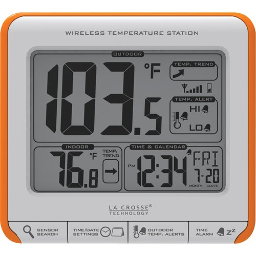La Crosse Technology 308-179OR Wireless Weather Station by La Crosse Technology