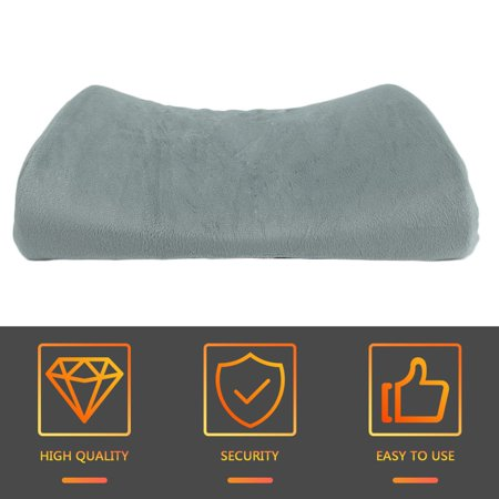 Soft Memory Breathable Healthcare Lumbar Cushion Back Waist Support Pillow - image 6 de 9