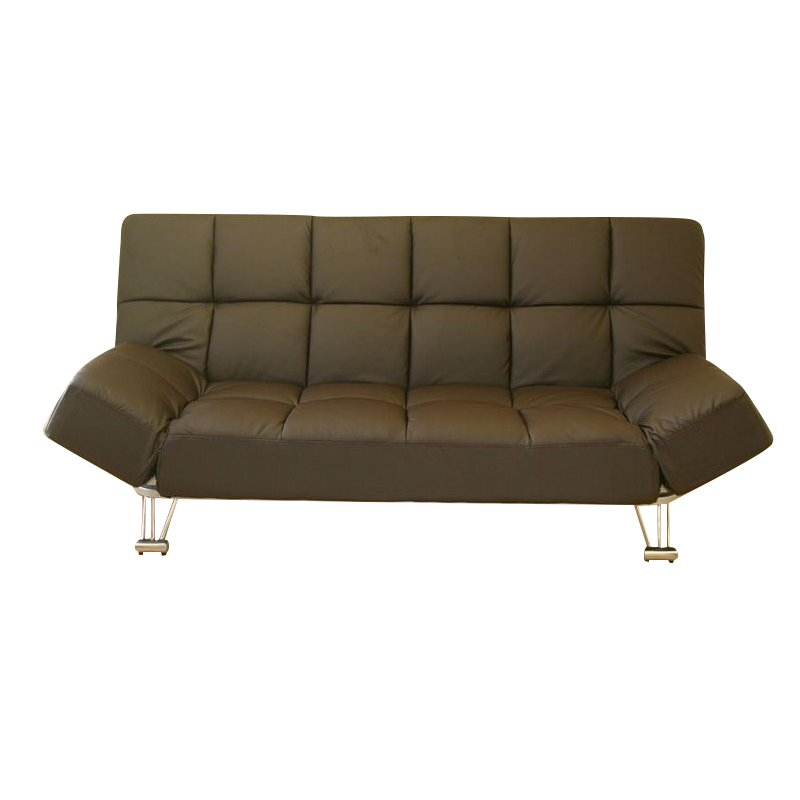 JM Furniture Venus Microfiber Sofa Bed in Chocolate Walmartcom