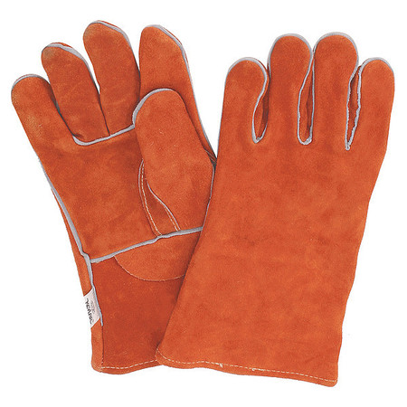 "CONDOR Welding Gloves,Stick,12-1/4"",M,PR 2MGC2"