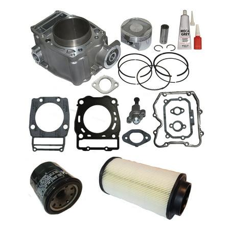 Top Notch Parts Polaris Ranger 500 Cylinder Piston Gasket Top End Kit Set 1999-2012