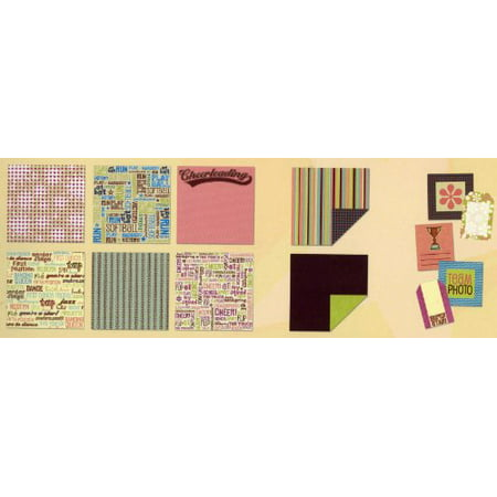Sporty Girl Brights Scrapbooking Paper Collection 12