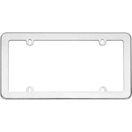 cruiser accessories model 21110 stainless steel license plate frame