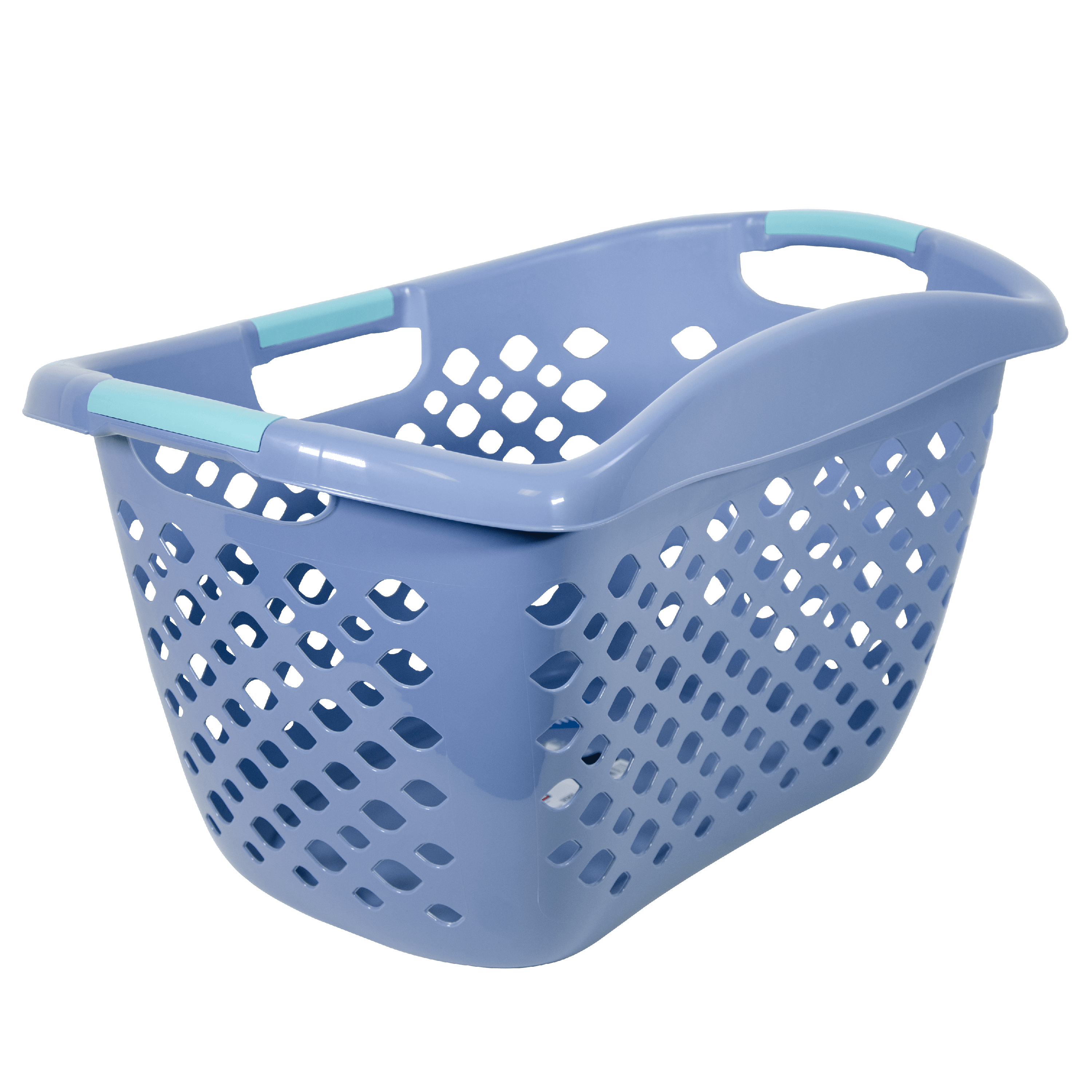 Home Logic Hip Grip Basket in Blue Gray