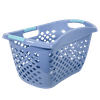 Home Logic HIP GRIP Laundry Basket, Large 1.8 Bu Hip Hugging Basket, Multiple Colors