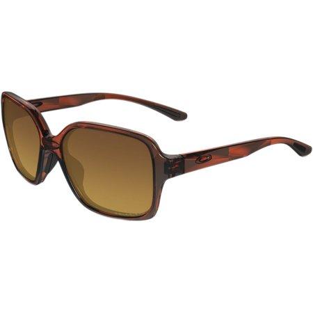 Oakley Tortoise Lens - Oakley Proxy Sunglasses - Polarized - Women's Tortoise / Brown Gradient One Size