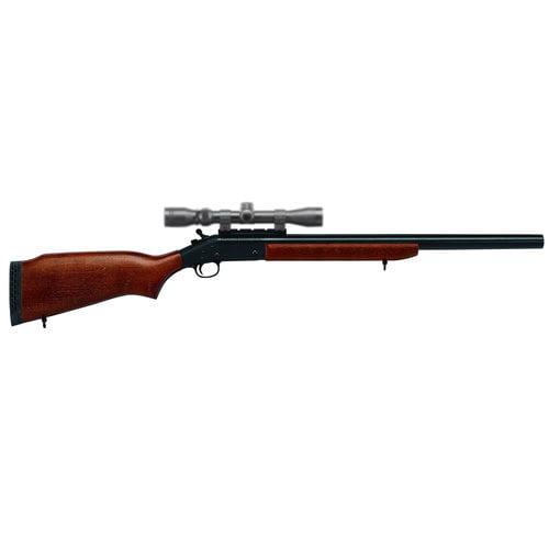 "DO NOT PUBLISH H&R 72202 Hunter Break Open Shotgun, 20 Gauge, 24"", 3"", Walnut Stock, Blue Finish"