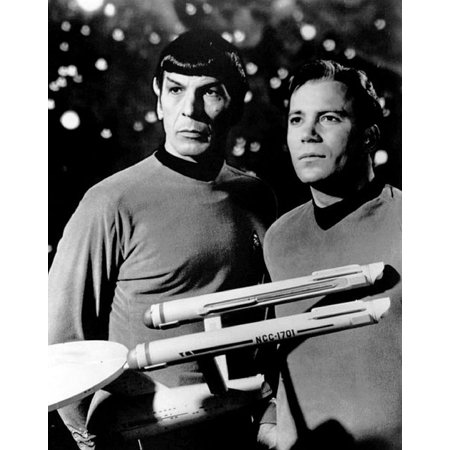 LAMINATED POSTER Star Trek William Shatner Leonard Nimoy Poster Print 24 x 36 - Halloween Movie William Shatner