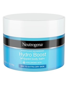 Neutrogena Hydro Boost Hyaluronic Acid Whipped Body Balm, 6.7 oz