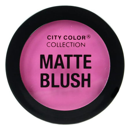 CITY COLOR Matte Blush - Fuchsia