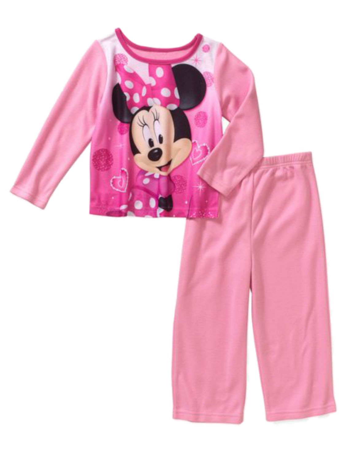 Baby Toddler Girl Assorted Characters Sleepwear Set