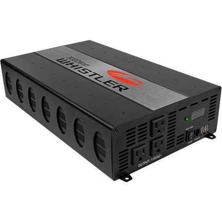 Whistler 3000 Watt Mountable Power Inverter with Overload Indicator by