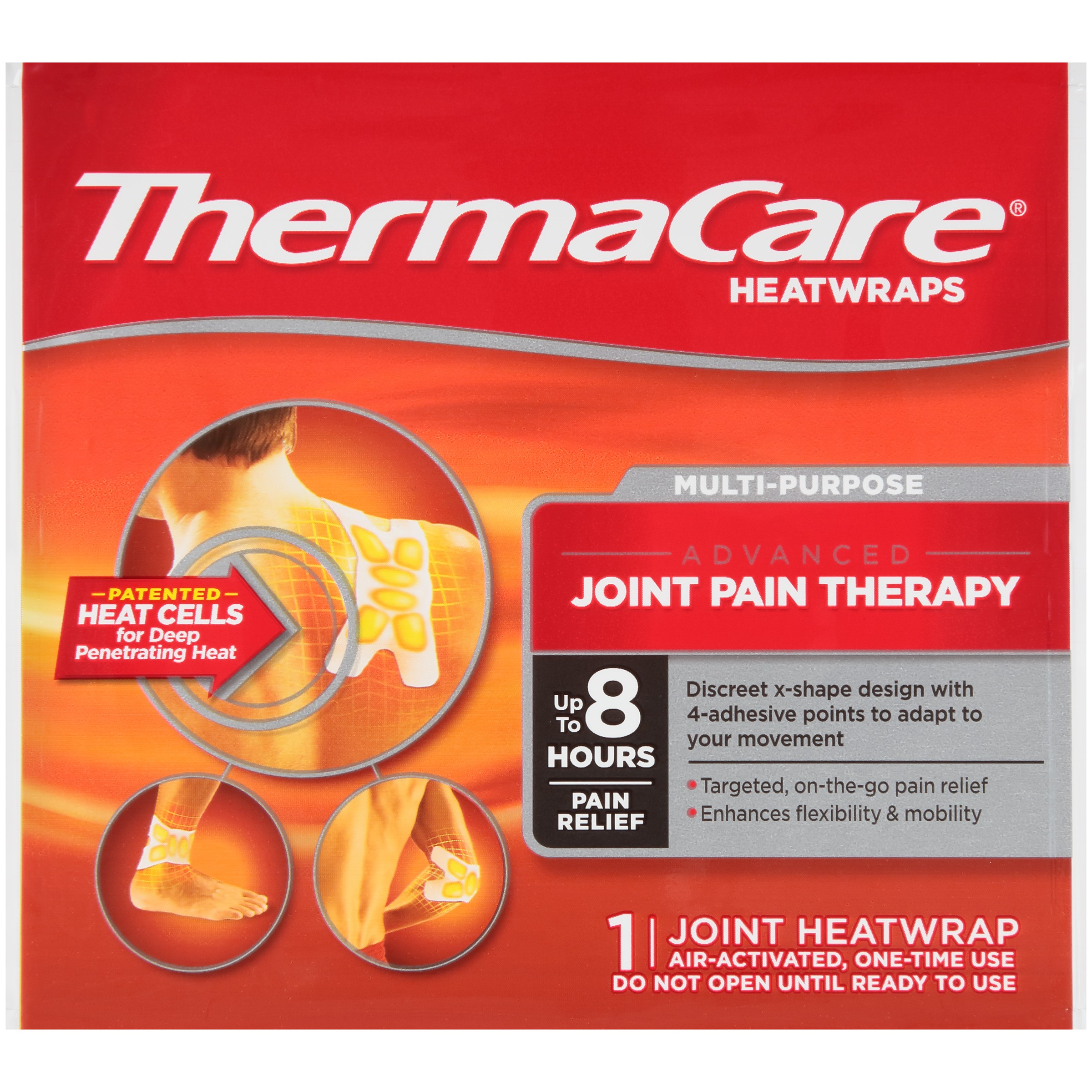 ThermaCare Heatwraps Joint Heatwraps, 4 ct