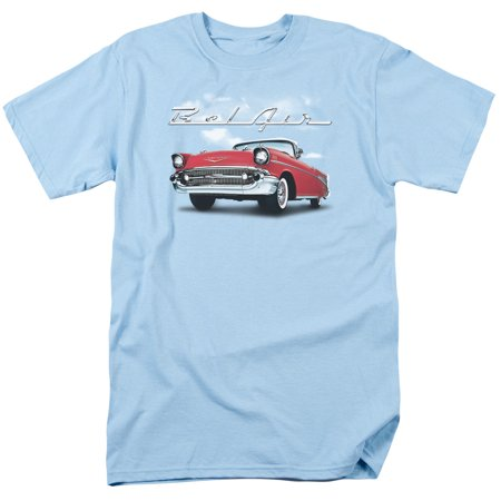 Chevrolet Automobiles Chevy Bel Air Classic Car Adult T Shirt Tee