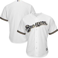 1e41e51b2 Product Image Milwaukee Brewers Majestic Official Cool Base Jersey - White