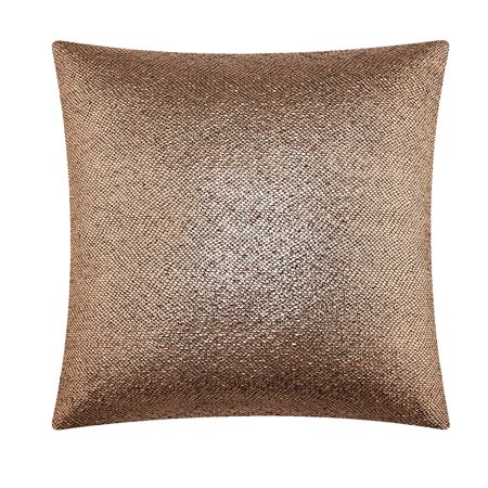 Mainstays Metallica Decorative Throw Pillow 40 X 40 Rose Gold Delectable Rose Gold Decorative Pillows