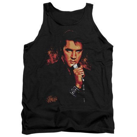Elvis Trouble Mens Tank Top Shirt