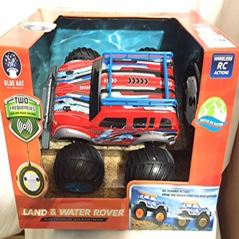 Hartford Test Blue Hat Land & Water Rover Radio Controlle...