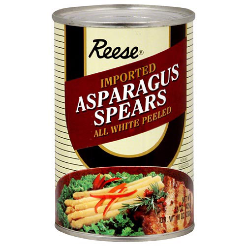 Reese All White Peeled Asparagus Spears, 15 oz (Pack of 12)