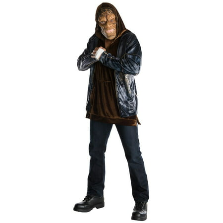 Suicide Squad: Killer Croc Deluxe Adult Costume STD](Costume Jeff The Killer)