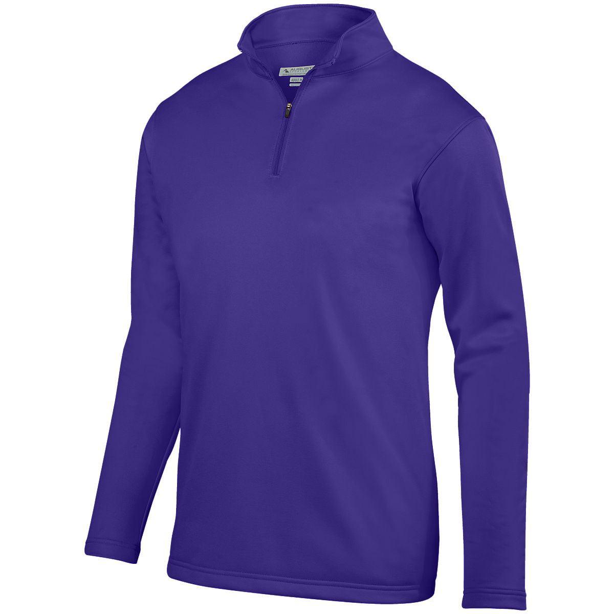 Augusta Wicking Fleece Pullover Purple 2Xl - image 1 de 1