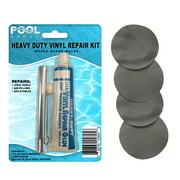 Best Air Mattress Patches - Flocked Grey Vinyl Repair Patch Glue Kit Review