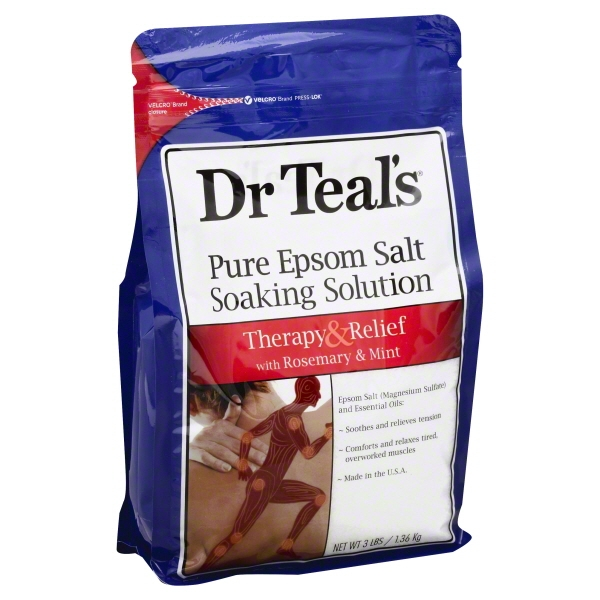 Dr.Teal's Refresh & Renew with Rosemary & Mint Epsom Salt, 3 lb.