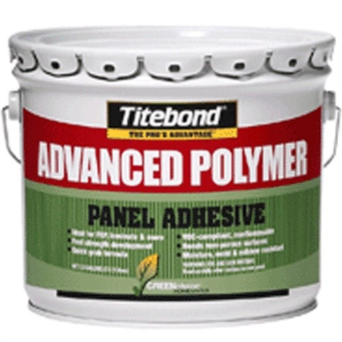 Panel Adhesive,Polyether,3.5 gal. TITEBOND 4319A