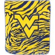 West Virginia Mountaineers Raschel Throw Blanket