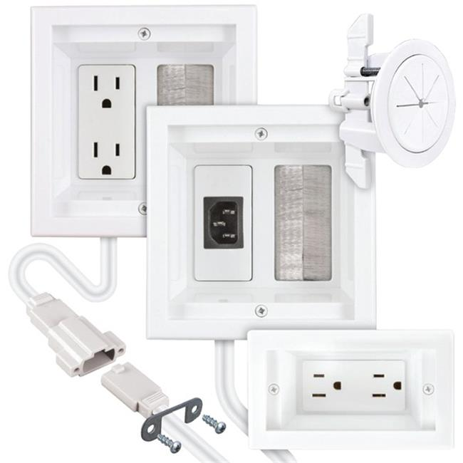 Midlite M2PJCTVSW5 Power Jumper IC HDTV & Soundbar Power Kit