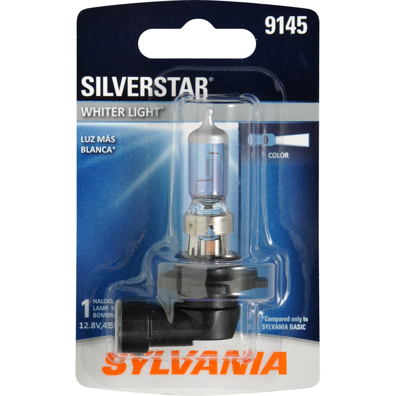 SYLVANIA 9145 SilverStar Halogen Fog Bulb, Pack of 1