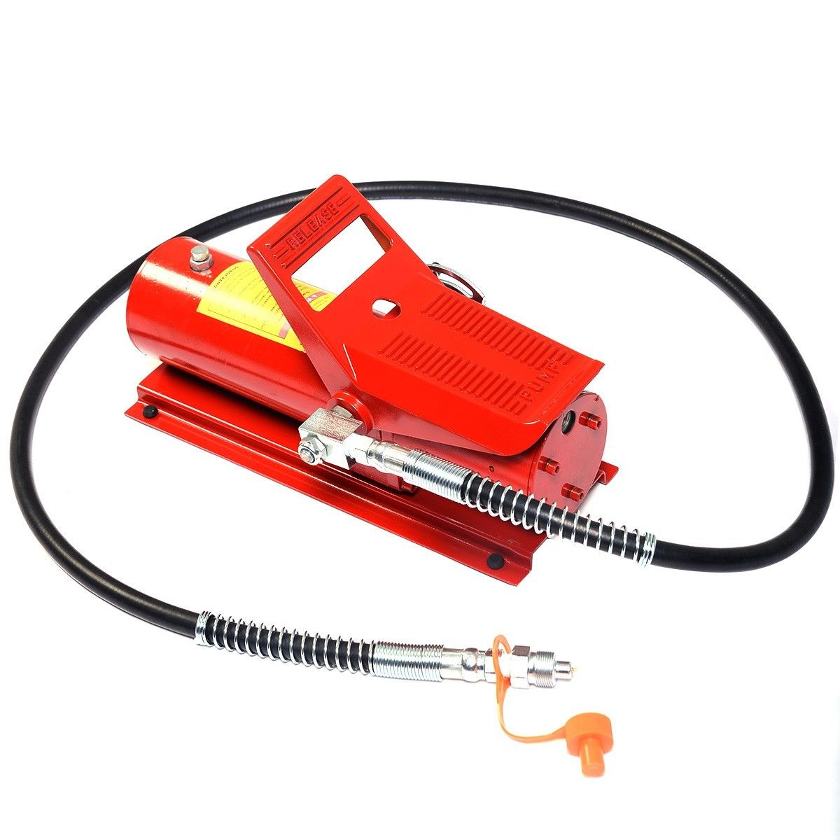GHP Red 10000PSI 10CFM Consumption 10-Ton Capacity Foot Control Hydraulic Air Lift
